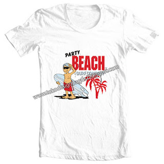 kaos-desain-t-shirt-distro-party-beach-surfing