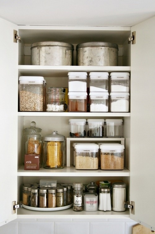 Storage Ideas For Kitchen Cupboards Part - 27: Luxury Spring Cleaning The Organized Kitchen