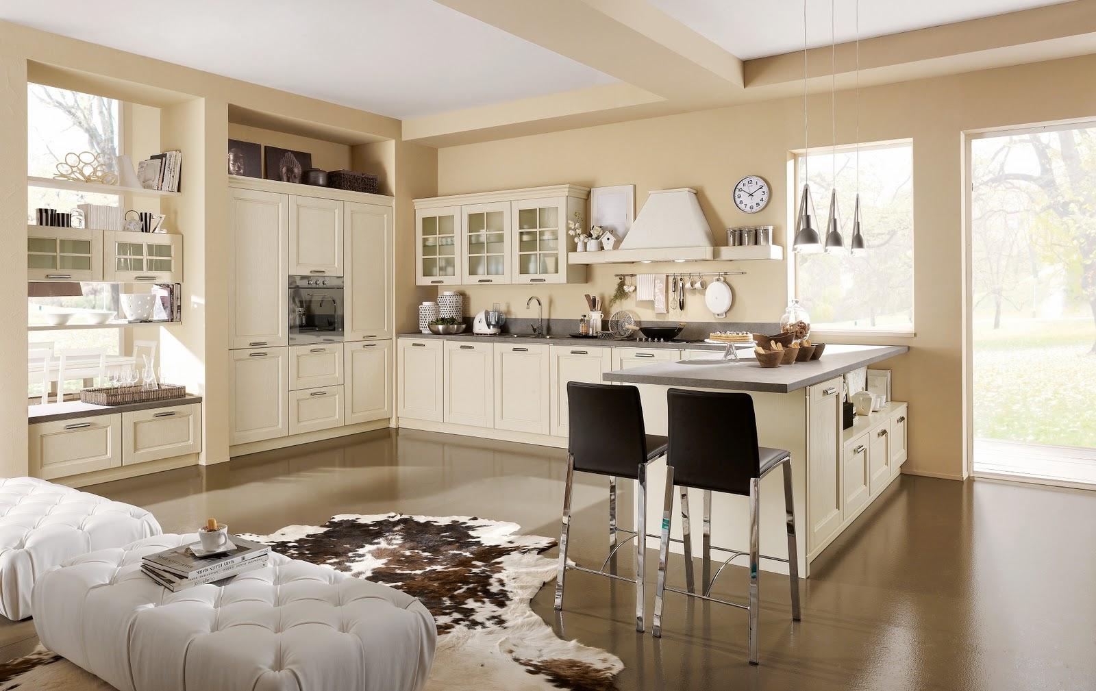 cucina classica elegante : ONTARIO ? ANTE ROVERE GESSATO