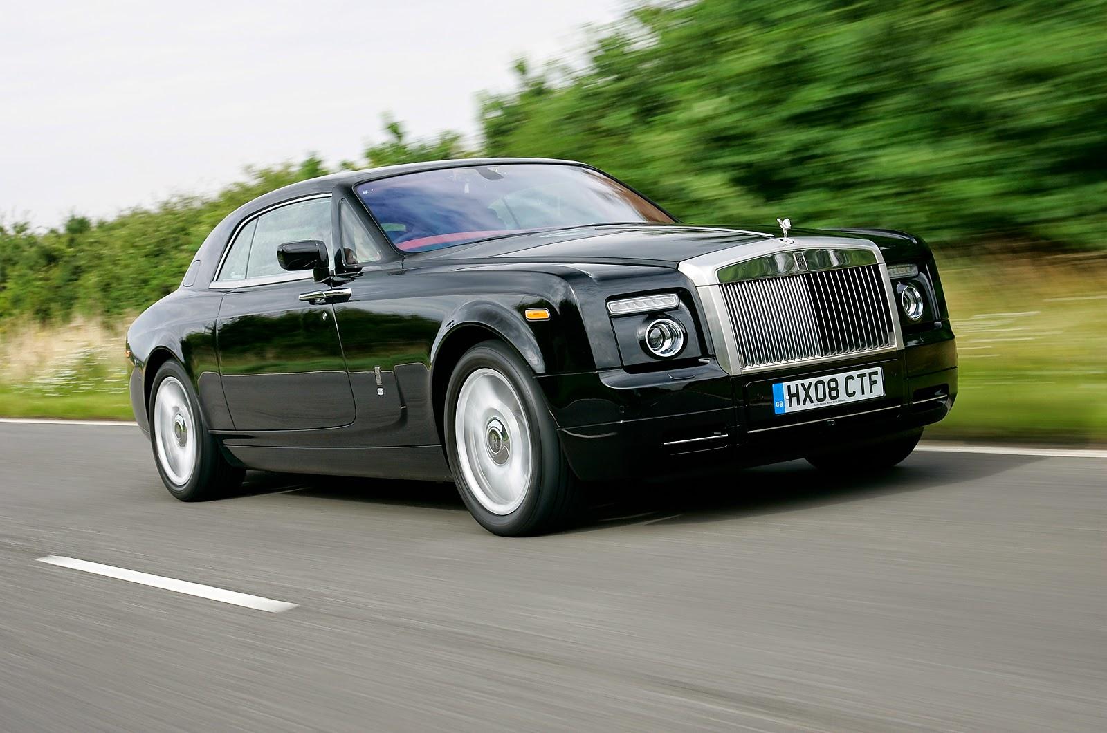 Rolls Royce Phantom en tercer lugar de la lista