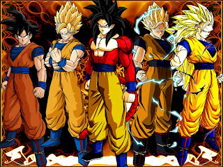 Wallpaper Foto Dragon Ball Z dan Gt