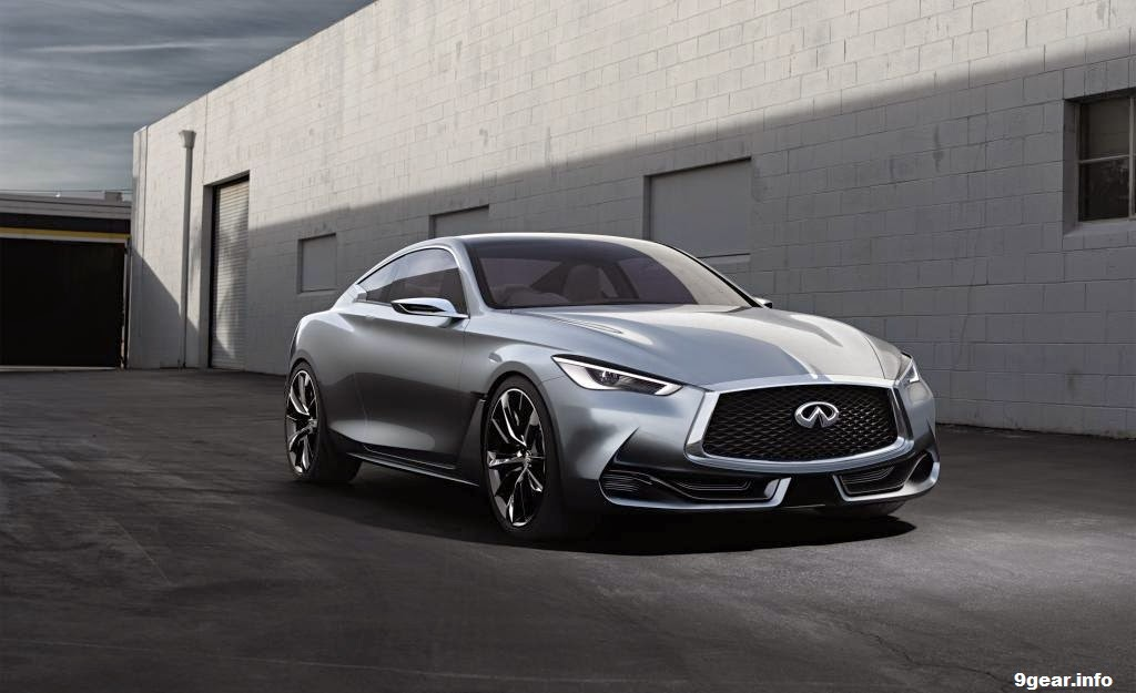 Infiniti Q60 Sport Coupe >> Infiniti Q60 Coupe Concept: The power to captivate | Car Reviews | New Car Pictures for 2018, 2019