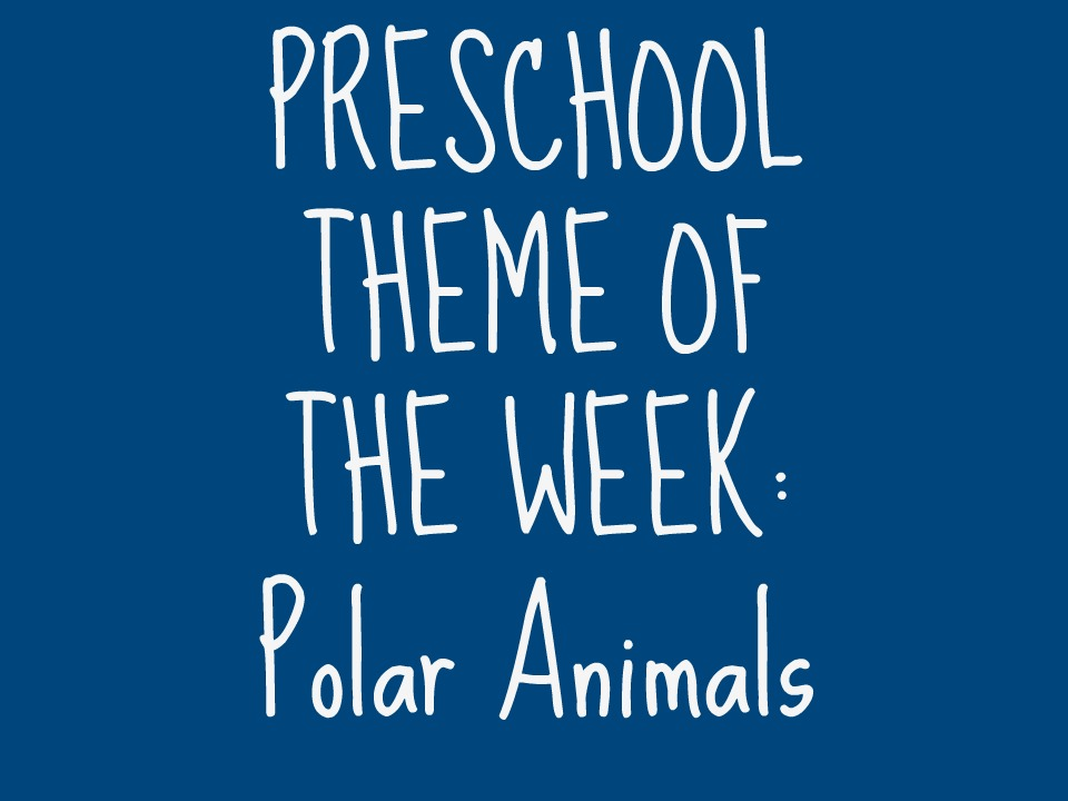 One great backyard get outside and play preschool polar animals