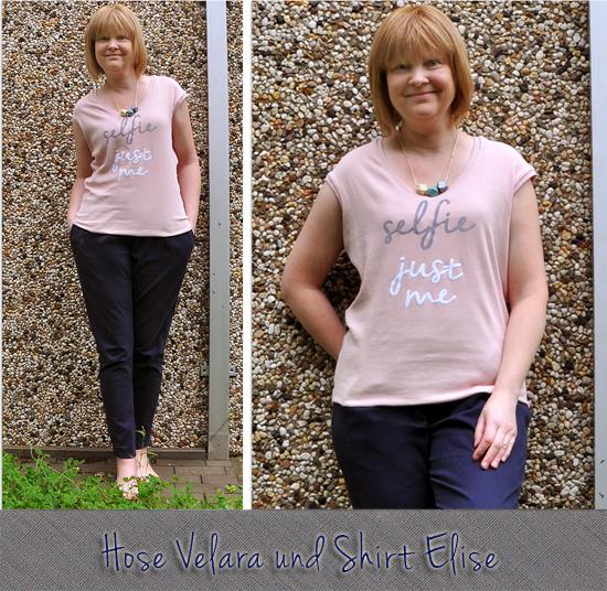 Hose Velara und Shirt Elise