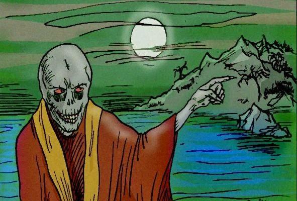 Ben sbarcati sull'Isola di Rayba!           Il lupo ululà, il castello delle storie è ululì!