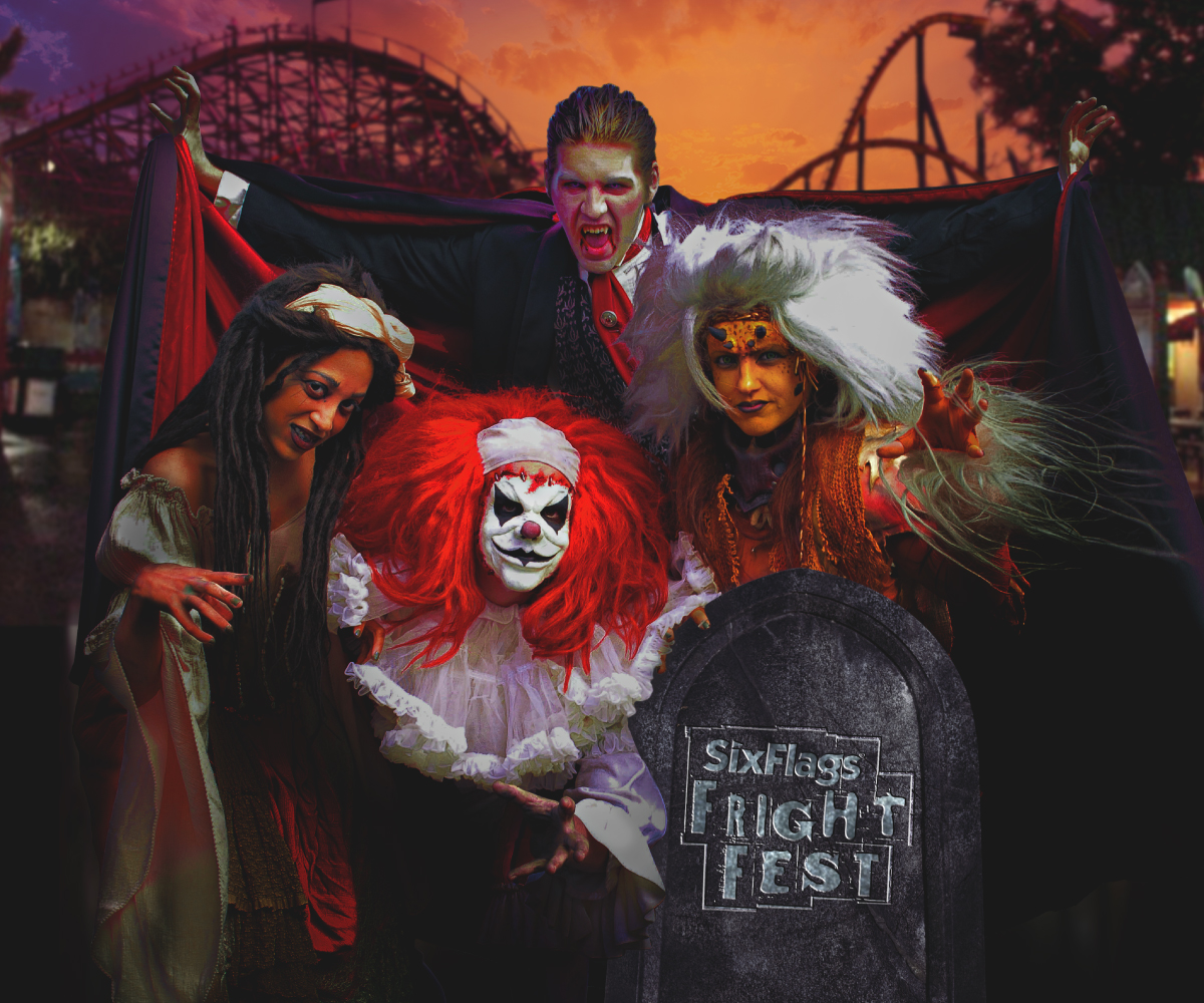 six flags great adventure for fright fest