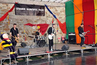Open Air - Under Burning Skin - 16. Frühlingsfest 2013