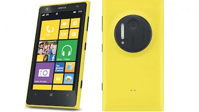 Nokia Lumia 1020, Info Harga dan Spesifikasi Kamera 41 MP!!