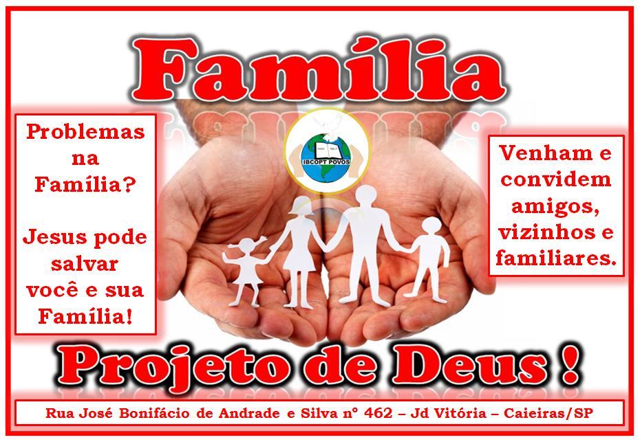 Família Projeto de Deus