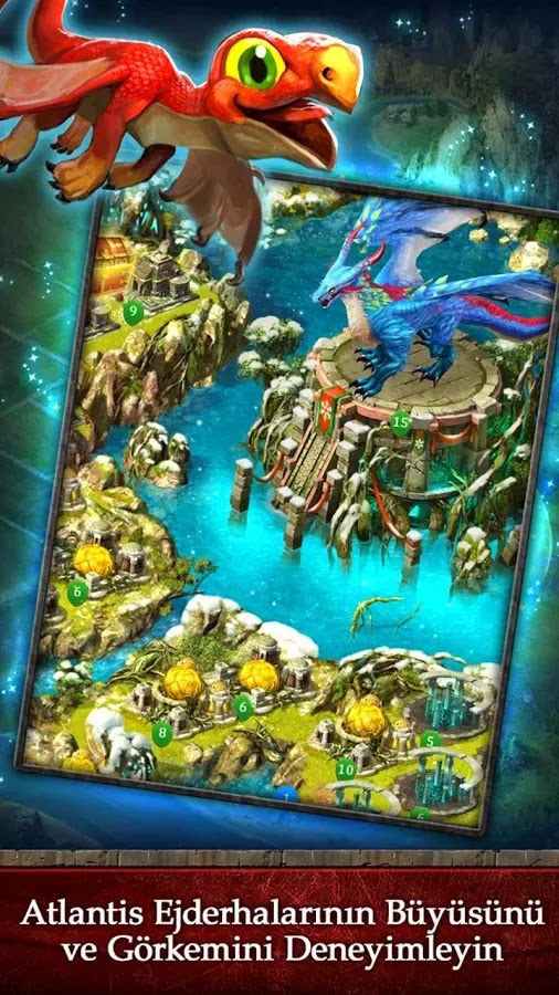 Android Dragons of Atlantis Apk resimi 3