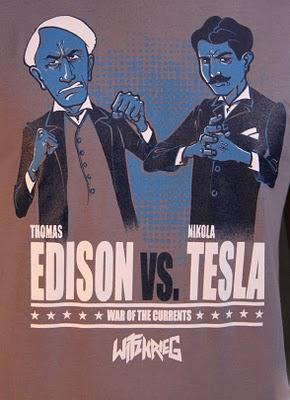 Rashell 180 S Stuff Thomas Alva Edison Vs Nicolas Tesla