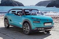Citroën Cactus M Concept (2015) Front Side