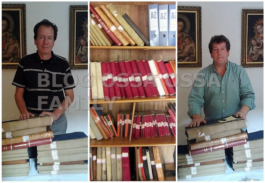 Tras la Ruta de los Ossa: Italia – España – Colombia.  Reconstruyendo la historia de los Ossa I