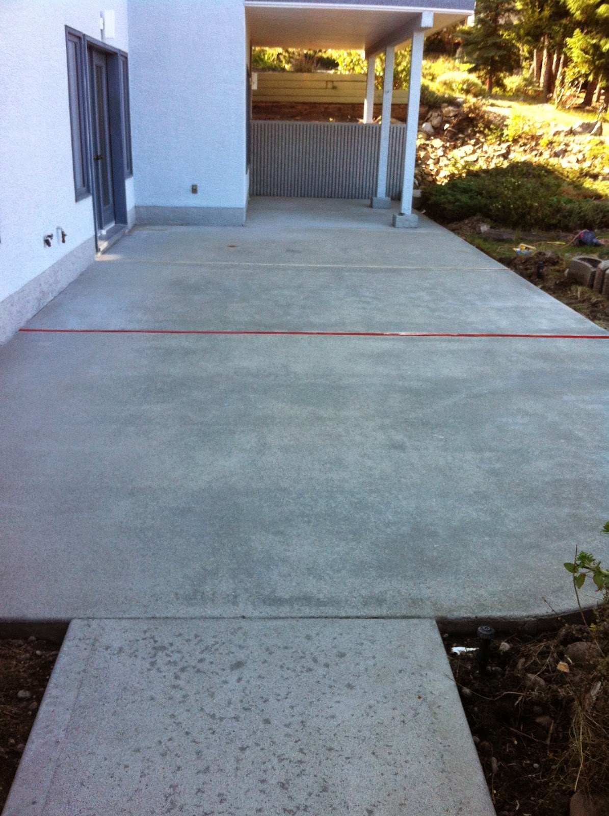 MODE CONCRETE: Give New Life To Your Concrete With Acid Stain   Concrete  Patio Completed By Kelowna BC, MODE CONCRETE