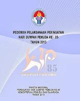 Pedoman Peringatan Hari Sumpah Pemuda (HSP) Ke - 85 Tahun 2013