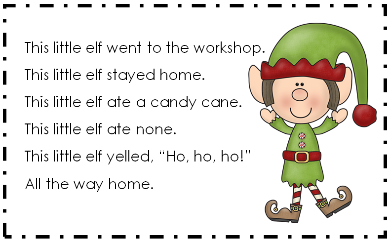 This Little Elf ~ Poem and a Sale!
