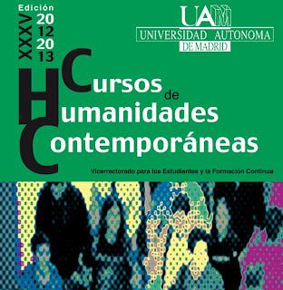 CHC Prosas de Vanguardia hispánica, Máster de Literaturas Hispánicas