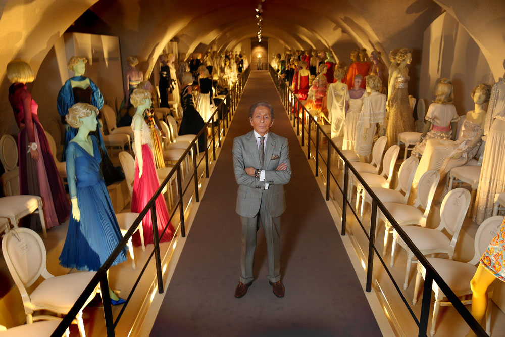Valentino & his dresses