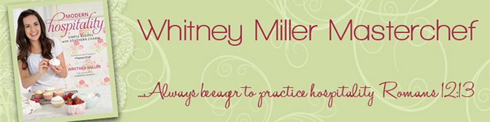 Whitney Miller Masterchef