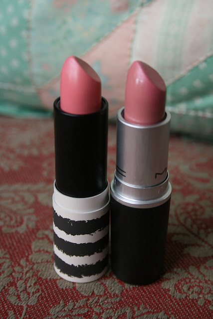 MAC, Mac, Topshop, lipstick, secret admirer, Creme Cup, Dupe