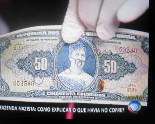 Dinheiro Cofre nazista