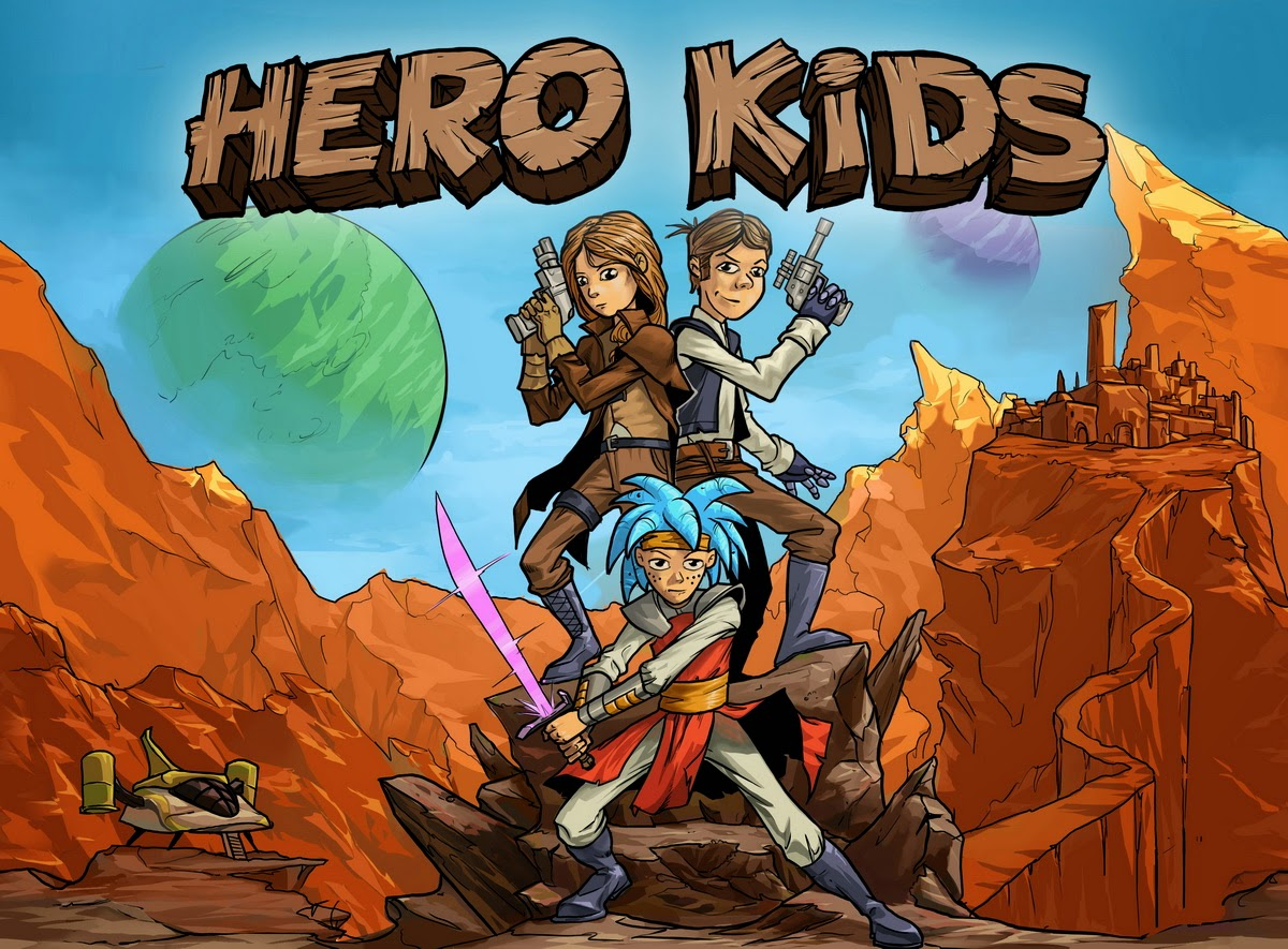 Hero Forge Games Kids Space Adventures Released
