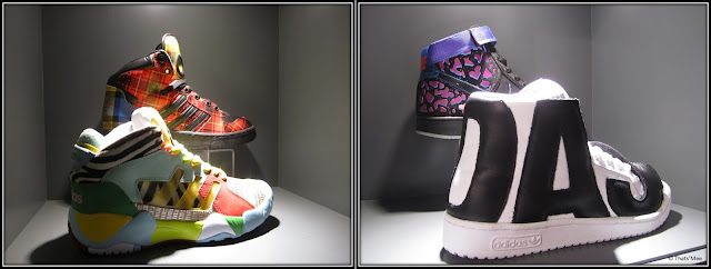 Size ? Paris Châtelet Les Halles shop streetwear sneakers, Nike Air ecossaises Nike Air Mutombo, marque Staple IceCream Nets