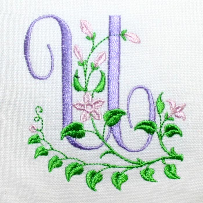 Буквы для машинной вышивки 126