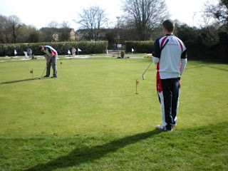 Miniature Golf Putting Course at Basingstoke Golf Centre
