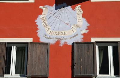 Sundial in Frabosa Sottana