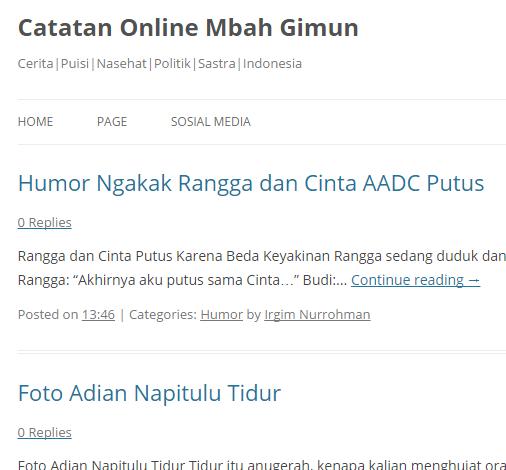 Ganti Template Blogspot yang Lebih Responsive