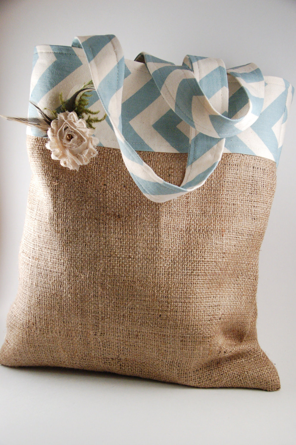 becoming the pierson 39 s burlap tote tutorial