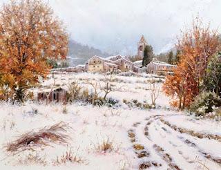 Paisajes de España Pintura Realismo Natural