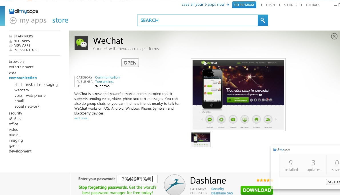 Free Download WeChat for PC Full Terbaru 2013