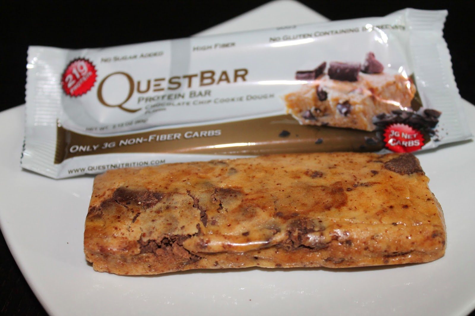 Quest bars kim hoeltje for Muscle food quest bar