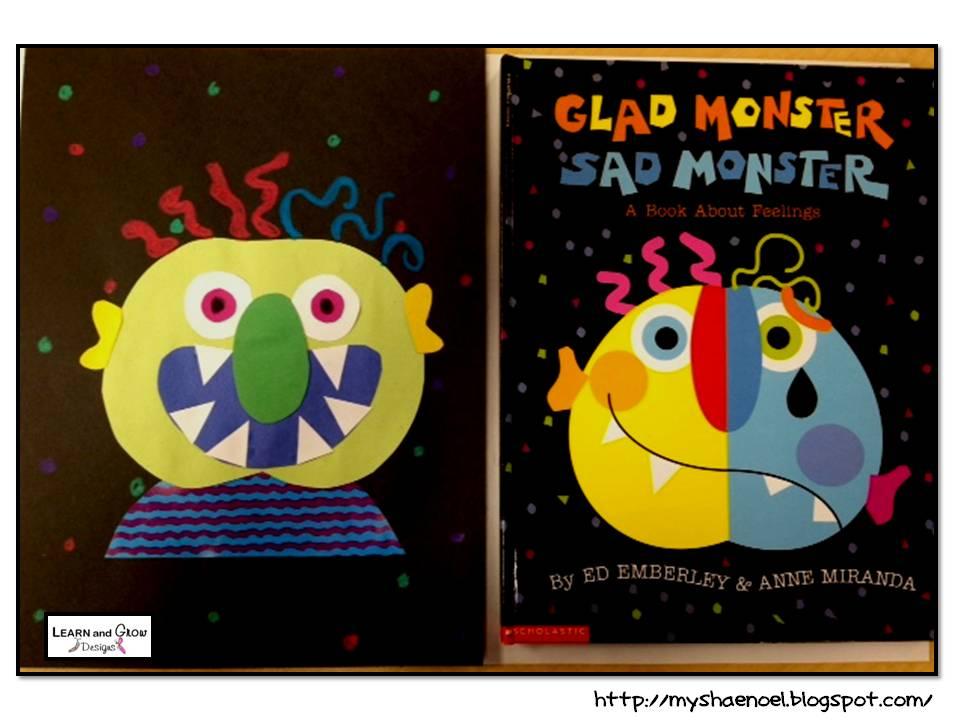 Glad Monster Sad Monster Printables Glad Monster Sad Monster
