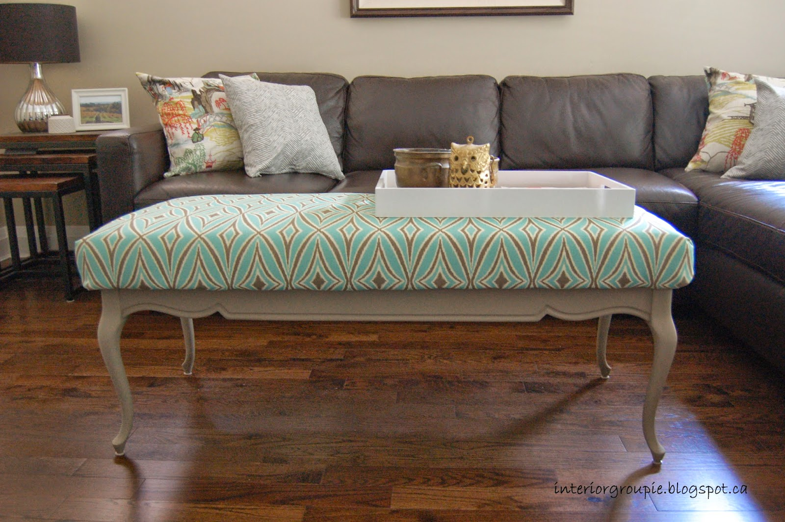 interior groupie diy coffee table and living room refresh update