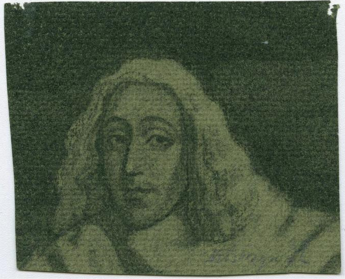 Portret van Spinoza in 1932 getekend door Max Busyn (1899 – 1976); Courtesy of the Leo Baeck Institute
