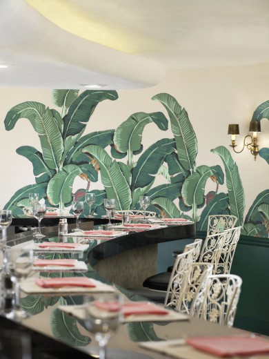 lamb blonde leafy luxe wallpapers