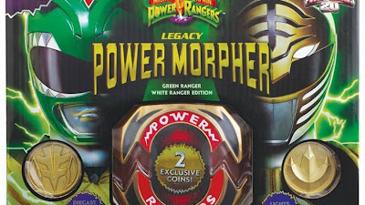 Bandai Power Rangers SDCC 2013 Exclusive 24k Gold Plated Legacy Morpher