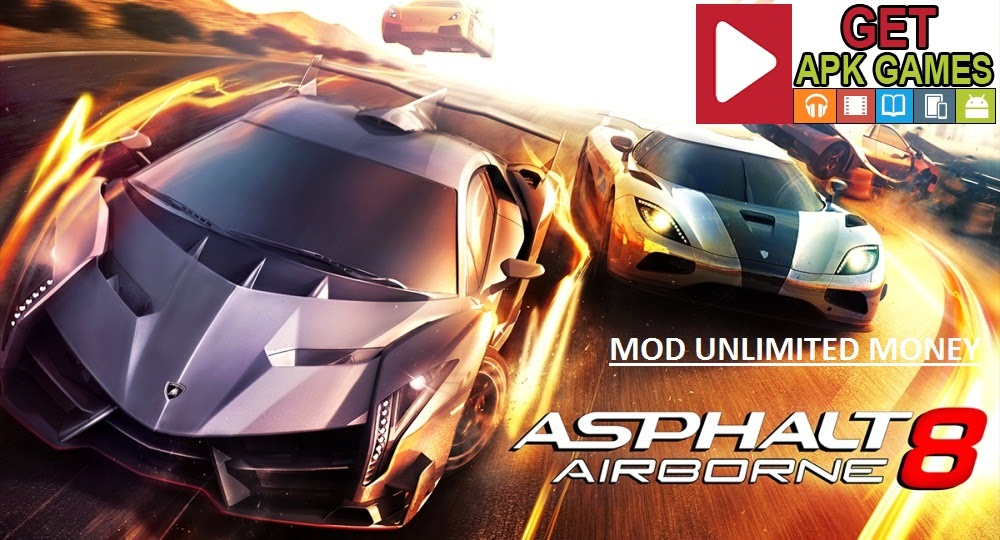 Asphalt 8 v1.4.0l Mod Unlimited Money Apk Download