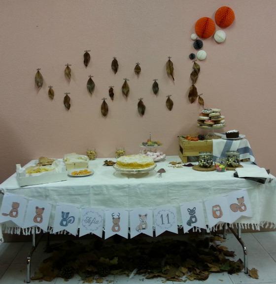 imagen_efimerata_burgos_cumpleaños_organizacion_otoño_animales_bosque_hojas_niñas_once_años