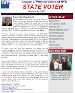 STATE LEAGUE NEWSLETTER