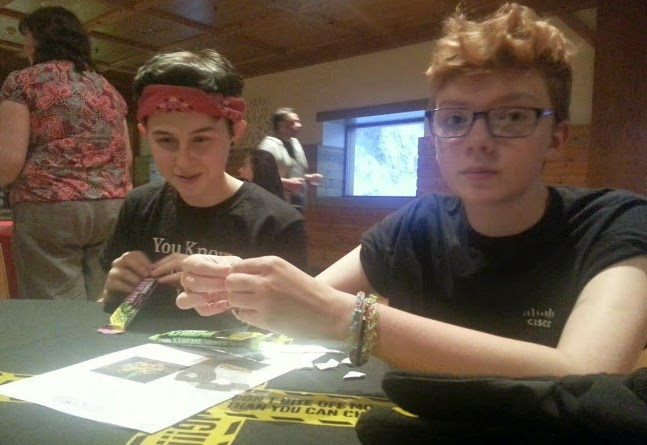Teenagers Eating Chewits