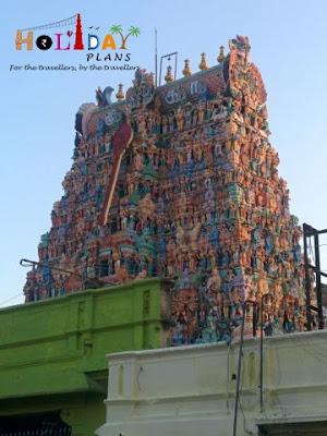 Tower of Tiruparamkunaram Temple