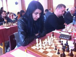 Echecs à Malakoff : la GMF Elena Partac © Chess & Strategy