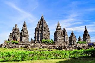 candi-candi di Indonesia
