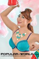 hot Foto Harazchieka Dewi (BFN Candy) di Popular World