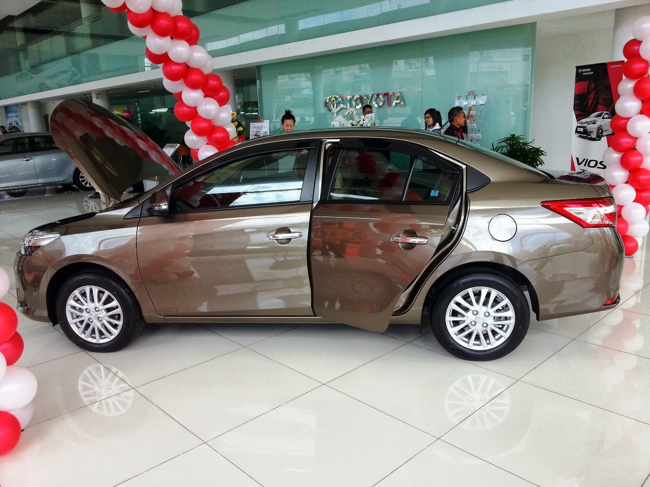 The New Toyota Vios 2013 Launched Malaysia Review