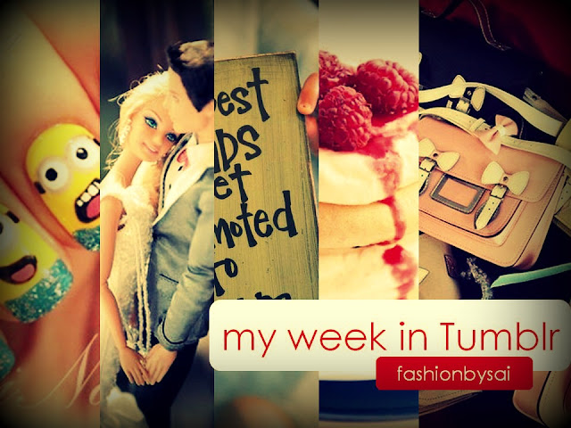 "Week 2 of ""My Week in fashionbysai Tumblr blog"" a fashion and beauty blog in the Philippines"